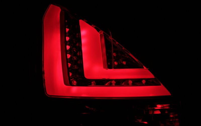 LIGHTBAR ROT 3//5 TÜRER KLARGLAS LED BAR RÜCKLEUCHTEN SET FORD FIESTA VI MK7 08