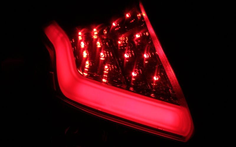 LED BAR RÜCKLEUCHTEN RÜCKLICHTER FORD FOCUS MK3 DYB ROT SMOKE SCHWARZ LIGHTBAR
