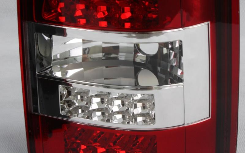 led r ckleuchten heckleuchten f vw t5 03 09 2 t ren rot. Black Bedroom Furniture Sets. Home Design Ideas