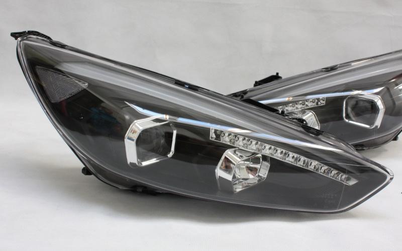 scheinwerfer set für ford focus mk3 dyb facelift led tagfahrlicht
